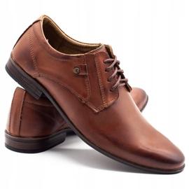 KOMODO Formal men's shoes 850 brown 4