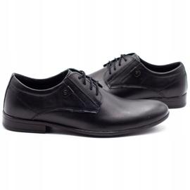 KOMODO Formal men's shoes 850 black mat 5