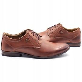 KOMODO Formal men's shoes 850 brown 5