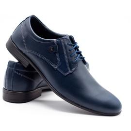 KOMODO 850 men's formal shoes navy blue 4