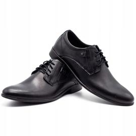 KOMODO Formal men's shoes 850 black mat 6