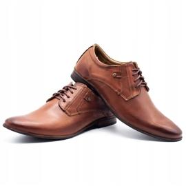 KOMODO Formal men's shoes 850 brown 6