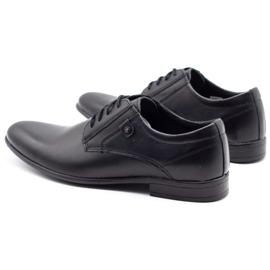 KOMODO Formal men's shoes 850 black mat 7