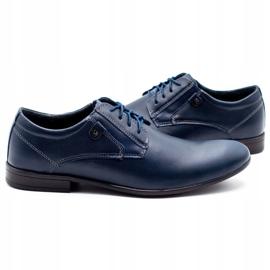 KOMODO 850 men's formal shoes navy blue 5