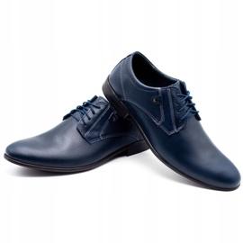 KOMODO 850 men's formal shoes navy blue 6