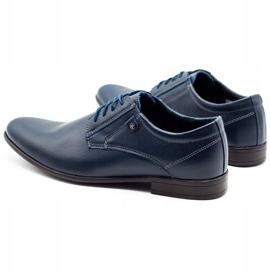 KOMODO 850 men's formal shoes navy blue 7