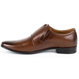 Lukas Leather formal shoes Monki 287LU brown 3