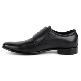 Lukas Leather formal shoes Monki 287LU black 1