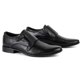Lukas Leather formal shoes Monki 287LU black 2