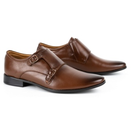 Lukas Leather formal shoes Monki 287LU brown 4