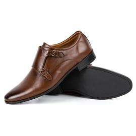 Lukas Leather formal shoes Monki 287LU brown 5