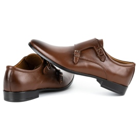 Lukas Leather formal shoes Monki 287LU brown 7