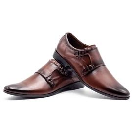 Lukas Leather formal shoes Monki 287LU brown 9