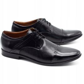 Olivier Men's formal shoes 710 black 2