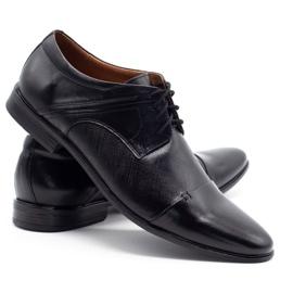 Olivier Men's formal shoes 710 black 4