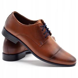 Lukas Men's formal shoes 288 brown 4