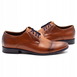Lukas Men's formal shoes 288 brown 5