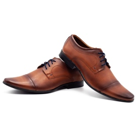 Lukas Men's formal shoes 288D brown 6