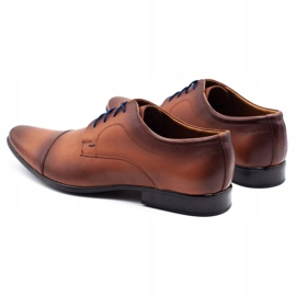Lukas Men's formal shoes 288D brown 7