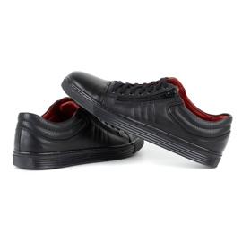 KENT Men's Casual Shoes 305s black 5