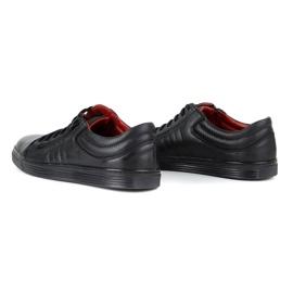 KENT Men's Casual Shoes 305s black 6