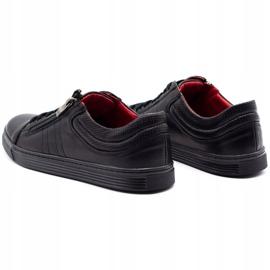 KENT Men's Casual Shoes 305s black 7