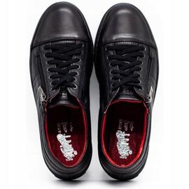 KENT Men's Casual Shoes 305s black 8