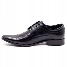Lukas L5 black men's formal shoes 1