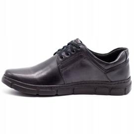 Joker Black men's leather shoes 506 1