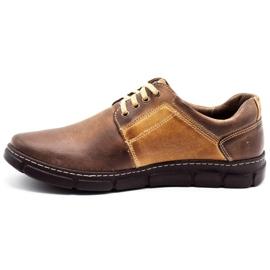 Joker Men's leather shoes 506 brown 1