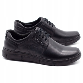 Joker Black men's leather shoes 506 2