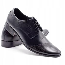 Lukas L5 black men's formal shoes 4