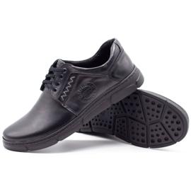 Joker Black men's leather shoes 506 3