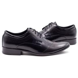 Lukas L5 black men's formal shoes 5