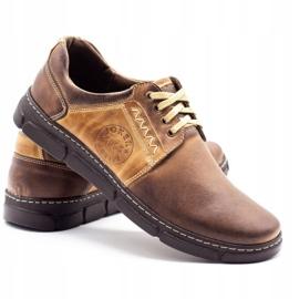Joker Men's leather shoes 506 brown 4