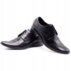 Lukas L5 black men's formal shoes 6