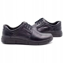 Joker Black men's leather shoes 506 5
