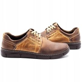 Joker Men's leather shoes 506 brown 5