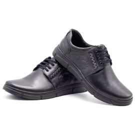 Joker Black men's leather shoes 506 6