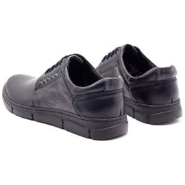 Joker Black men's leather shoes 506 7