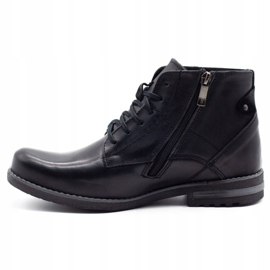 KOMODO Black men's winter boots 731K 1