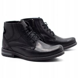 KOMODO Black men's winter boots 731K 2