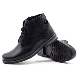 KOMODO Black men's winter boots 731K 3