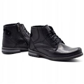 KOMODO Black men's winter boots 731K 4