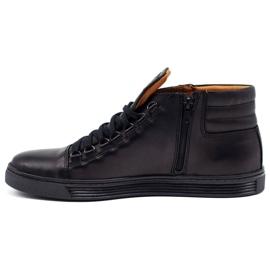 KENT 304V Men's Casual Shoes black 1