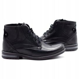 KOMODO Black men's winter boots 731K 5