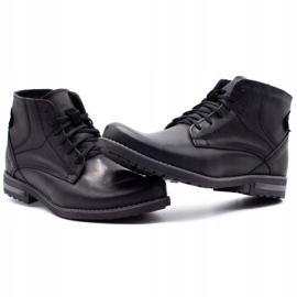 KOMODO Black men's winter boots 731K 6