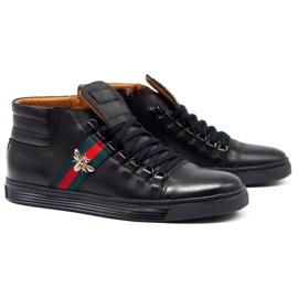 KENT 304V Men's Casual Shoes black 2