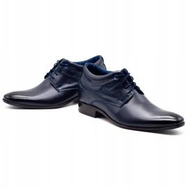 Lukas Men's shoes increasing 300LU navy blue 6