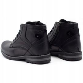 KOMODO Black men's winter boots 731K 7